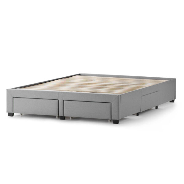 bed base with drawers